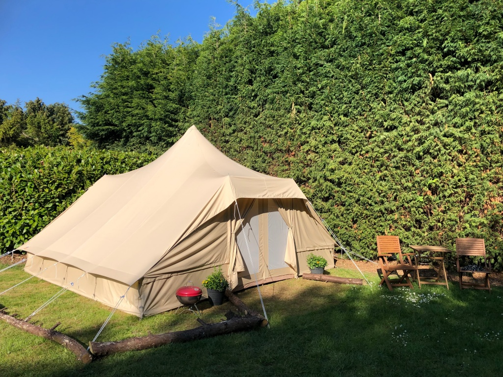New Glamping Touareg Tent Ready!